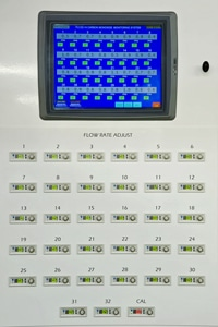 32 point CO monitoring system