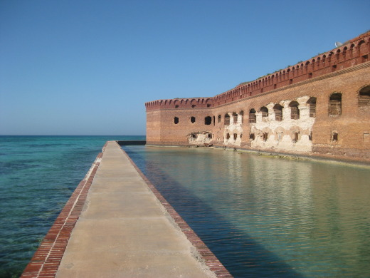 Another view of Fort Jefferson