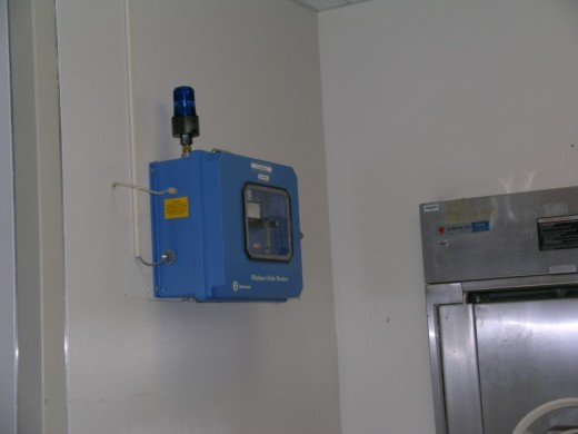 LD20 EtO monitor at Prince George's Hospital Center