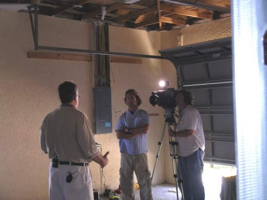 Phil Keating interviews tainted drywall remediation expert Michael Foreman