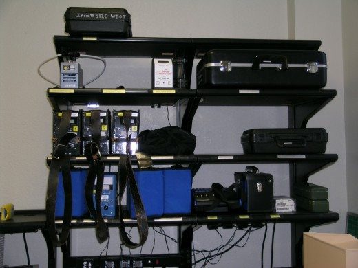 Portable analyzers at the ready at Patrick AFB, FL