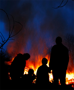 Fire and the family