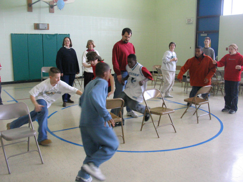 Musical chairs--too many people?