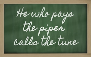 Pay the piper in healthcare