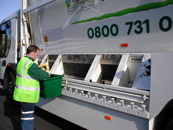Sorting recyclable goods